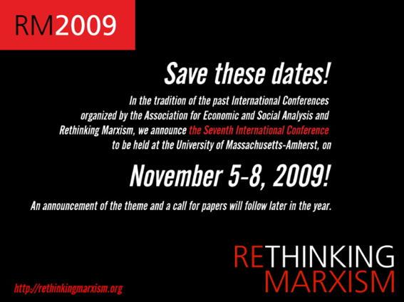 Rethinking Marxism RethinkMarxism  Twitter